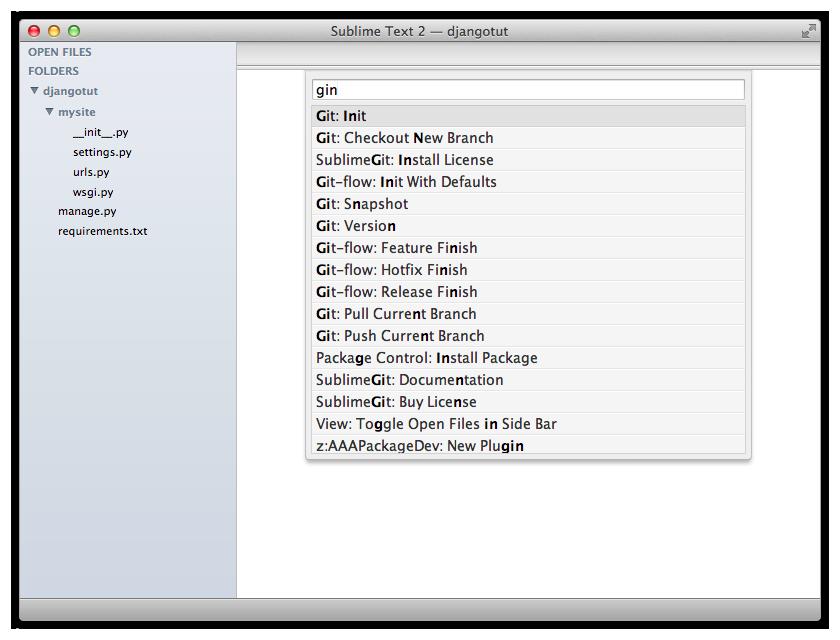 Tutorial — SublimeGit 1 0 36 documentation
